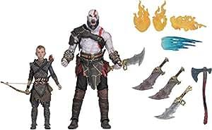God Of War - Pack de 2 Ultimate Action Figure Kratos & Atreus