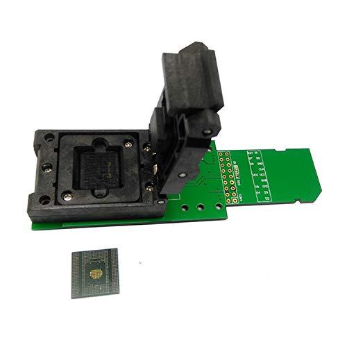 FairytaleMM Emcp529 Reader Test Socket Mit Sicherheit Digital Interface Bga529 Für Samsung Note4 Flash Datenrettung (Schwarz Grün)