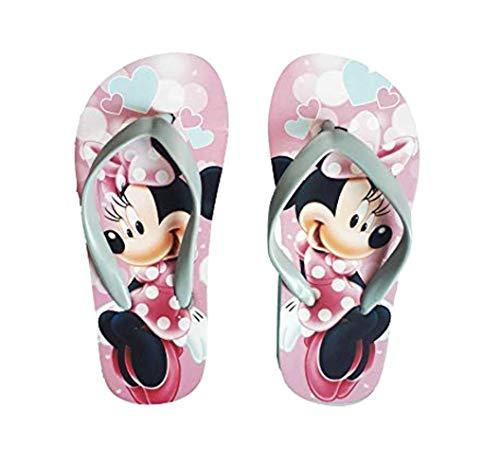 n Flip Flops Badeschuhe Pantolette Sandale Schuhe Disney, Minnie Mouse, 31/ 32 EU ()