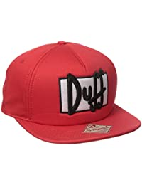 Simpsons Duff Beer Red Snapback casquette