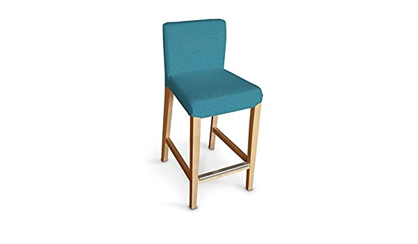 Ikea Sgabello Nils : Dekoria ikea henriksdal bar stool cover turquoise teal amazon