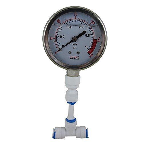 DIGITEN Water Pressure Gauge Meter 0-1.0MPa 0-150psi 1/4 for Reverse Osmosis System Pump by DIGITEN -