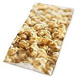 GXLLLW Copricapo di Mais Popcorn Copricapo Unisex Multifunzione Poliestere Sciarpa Morbida ad Asciugatura Rapida Fascia per Collo, Copricapo da Viaggio Sciarpa Magica da Viaggio