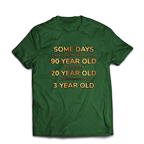 lepni.me Männer T-Shirt Kluges, sexy und energisches lustiges Zitat (X-Large Dunkelgrün Mehrfarben)