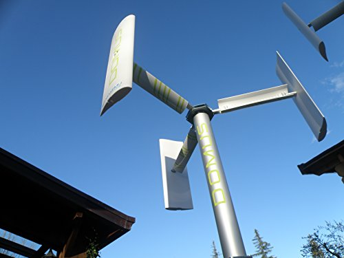 Windkraft bauen garten DOMUS 500 / 750 / 1000 W Windgenerator mini micro windkraftanlagen Rotorblätter vertikale Darrieus Savonius 1KW