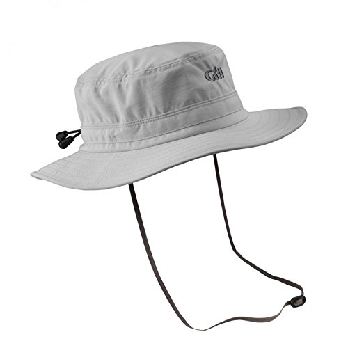 Gill Sailing Cap (Gill Technical Sailing Sun Hat Silver 140 Size-- - Medium)
