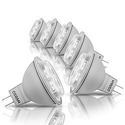 Osram LED Star MR16, LED-Reflektorlampe mit GU5.3-Sockel, Nicht Dimmbar, Ersetzt 35 Watt, 36° Ausstrahlungswinkel, Warmweiß - 2700 Kelvin, 6er-Pack