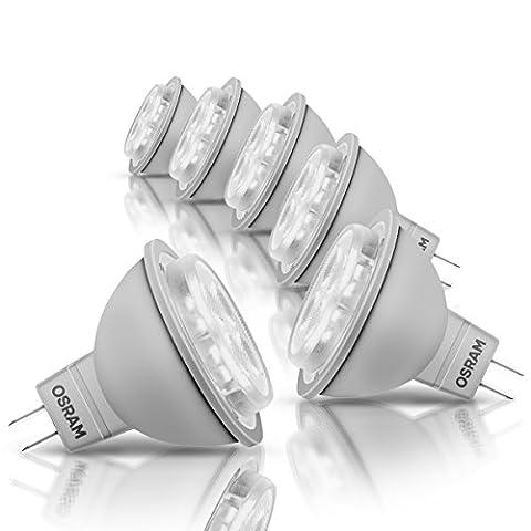 Osram LED Star MR16, LED-Reflektorlampe mit GU5.3-Sockel, Nicht Dimmbar, Ersetzt