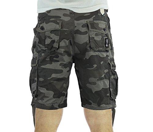 Crosshatch Crossfin MVE Combat Shorts Black