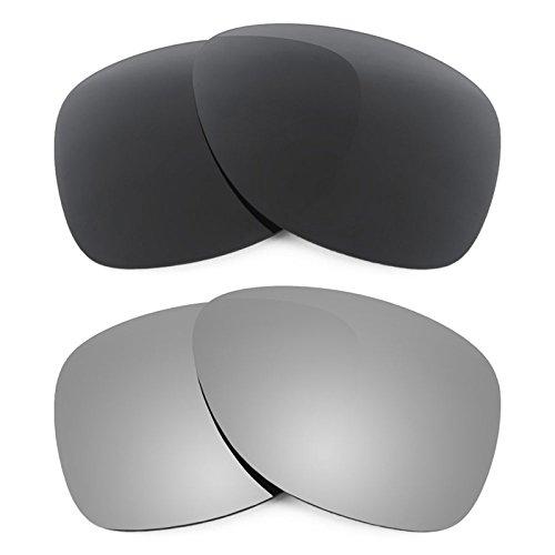Revant Ersatzlinsen für Oakley Dispatch 2 Polarisiert 2 Paar Kombipack K001