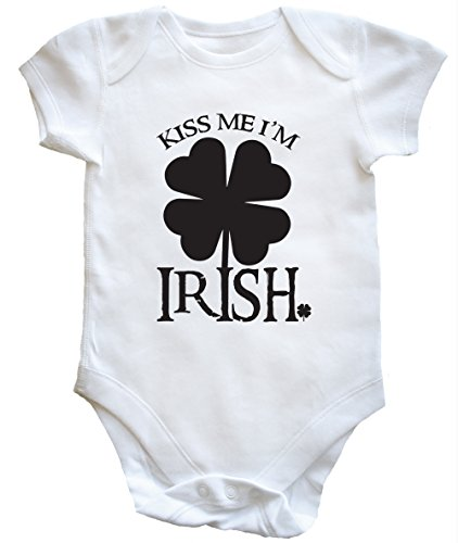 hippowarehouse-kiss-me-im-irish-body-bodys-pijama-nios-nias-unisex