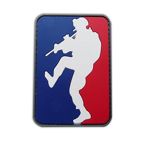 Onuris Major League Doorkicker Morale Patch Parche Airsoft Paintball Militär 3D PVC con Velcro