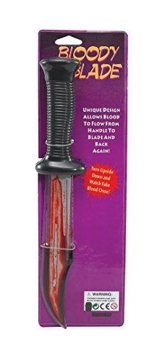Bristol Novelty BA374 Bloody Scream Messer, -