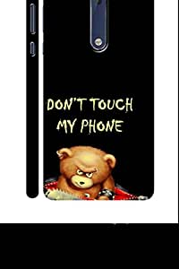 SRS Don'T Touch 3D Back Cover for Nokia 5