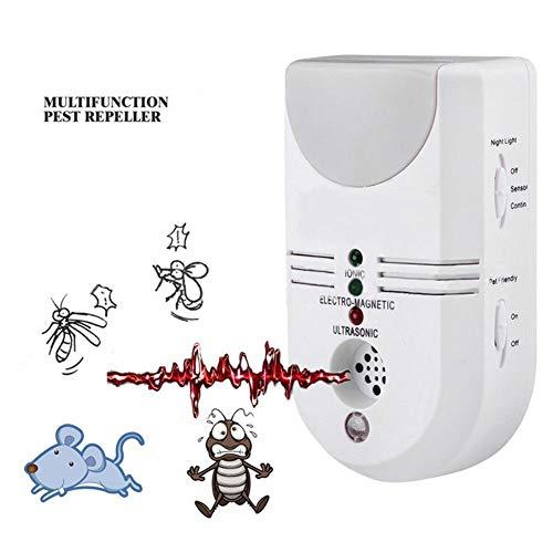 LPVIE Multifunktions-Indoor 5 in 1 Schädlingsbekämpfer Mosquito-Controller Prevent Floh Maus Scorpion Spinne Schaben Pflegen Sicherheit Mit Mute