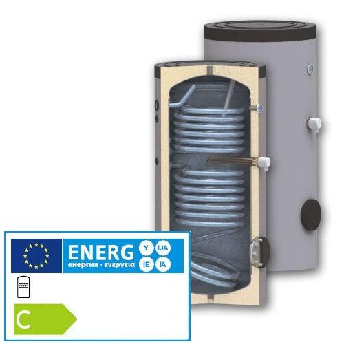Solarspeicher Brauchwasserspeicher 400Liter Thermoflux TBWS-RR Bi-Valent