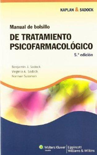 Kaplan & Sadock Manual de bolsillo de tratamiento psicofarmacológico