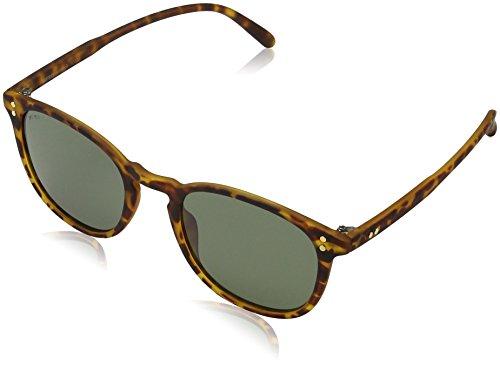 MSTRDS Unisex Sonnenbrille Arthur Mehrfarbig (havanna/green 5148), Herstellergröße: one Size