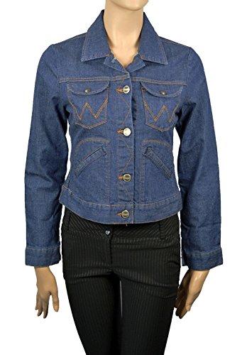 Wrangler Damen Jeansjacke W42714466 Western Jacket Gr.M - Jeans Wrangler Damen