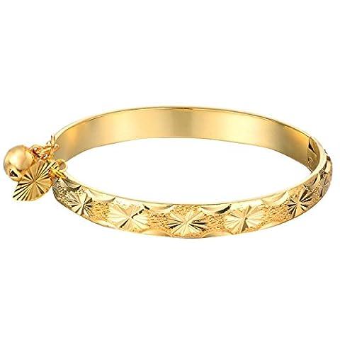 L / C. Plaqué Or 18 Carats Dames Rétro Bracelet,A-OneSize