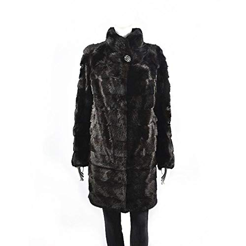 ZYJANO Warmer Mantel,Mantel Mittellanger Damenmantel Warme Damenmode für den europäischen und amerikanischen Winter 8