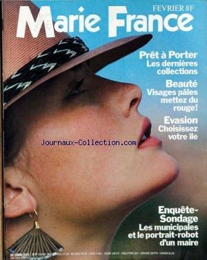 MARIE FRANCE [No 324] du 01/02/1983
