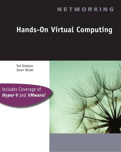 Hands-On Virtual Computing (Networking (Course Technology))