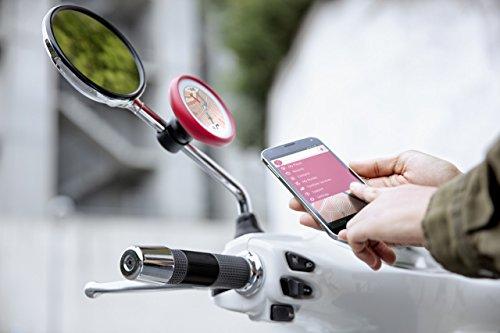 TomTom Vio Motorroller-Navigation (6,1 cm (2,4 Zoll) Display, Europa Karten, Radarkameras auf Wunsch, Anruferanzeige schwarz) - 4