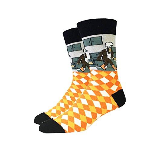 Kochen Bigfoot One Size passt die meisten Crew-Socken