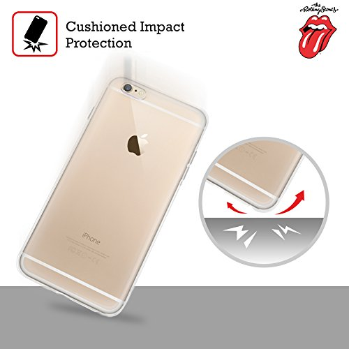 Ufficiale The Rolling Stones Lingua Classica Arte Chiave Cover Morbida In Gel Per Apple iPhone 6 / 6s Dragone