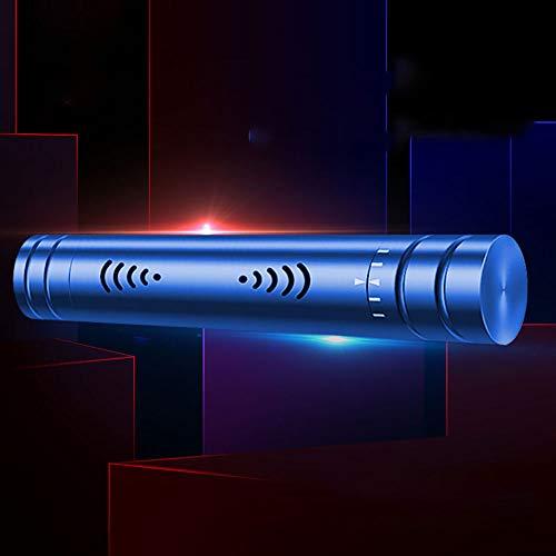 LINDU Auto montiert Parfüm Auto Klimaanlage Luftaustritt Fester Duft anhaltender Duft Auto Innenraum Lufterfrischer Duft, blau - Moschus Parfüm Köln