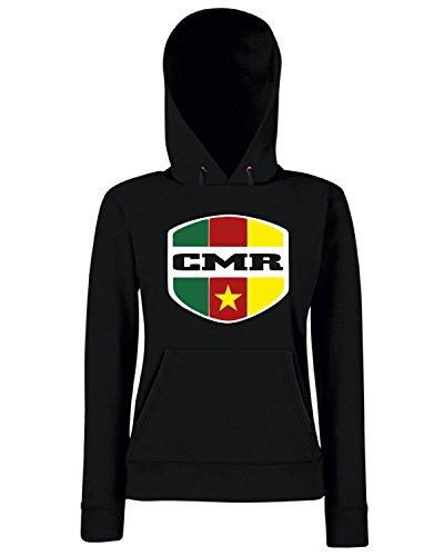 T-Shirtshock - Sweats a capuche Femme WC0159 CAMEROON Noir