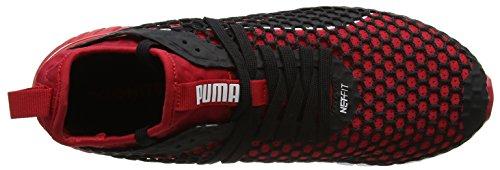 Rosso Scarpe toreador Accensione Puma Outdoor Uomo Netfit Doppia nero Multifunzionali 7qwB8P0w