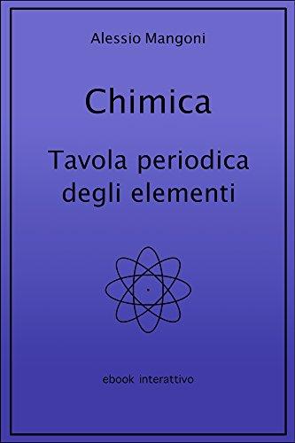 Chimica: tavola periodica degli elementi