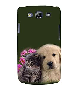 PrintVisa Two Beauties 3D Hard Polycarbonate Designer Back Case Cover for Samsung Galaxy S3 i9300 :: Samsung I9305 Galaxy S III :: Samsung Galaxy S III LTE