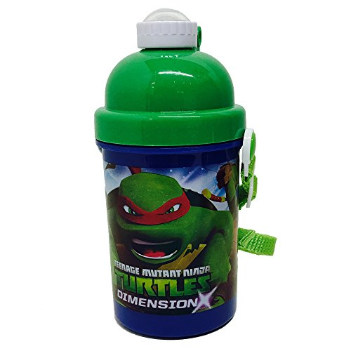 Teenage Mutant Ninja Turtles F108303 - Pop Up Flasche, 400 ml (Ninja Turtles Kleidung Mutant Teenage)