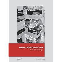 Leçons d'architecture