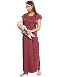 Fabme Women's Maternity Night Dress