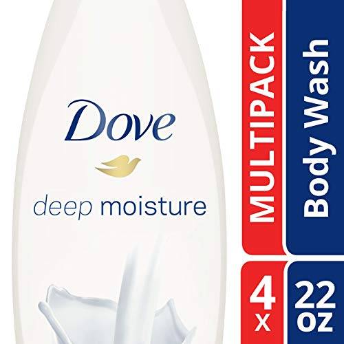 Dove Body Wash, Deep Moisture 22 oz, Pack of 4 by Dove