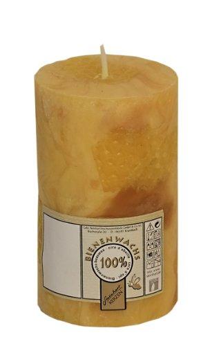 Vela de cera de abeja 100% pura