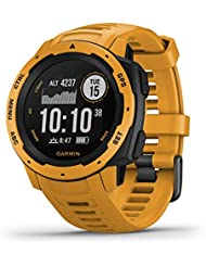 Garmin Instinct smartwatch Giallo GPS (satellitare)