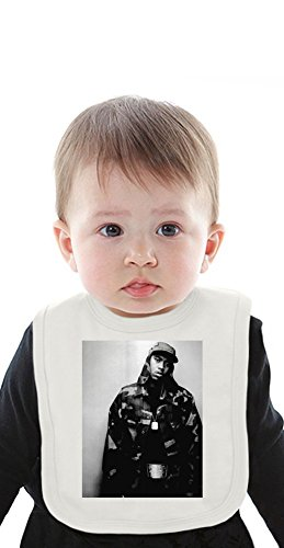 NAS Camouflage Organic Baby Bib With Ties Medium Camouflage-baby-bib