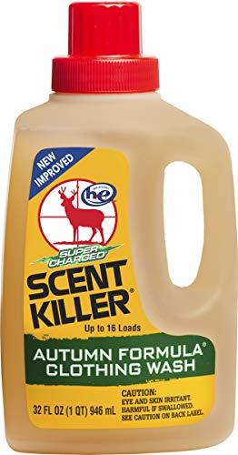 Wildlife Research Center Duftkiller Duftbeseitigung Herbst Formel Waschmittel Flüssigkeit, Herren, 585-33, braun, 32 oz. - 33 Formel