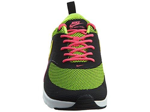 Nike Mädchen Air Max Thea (Gs) Laufschuhe Black (Schwarz / Volt-Hyper-Rosa-Weiß)