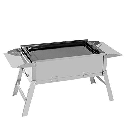 JPVGIA Barbecue Grill Portable Parrilla BBQ, Parrilla al Aire Libre, Parrilla de...