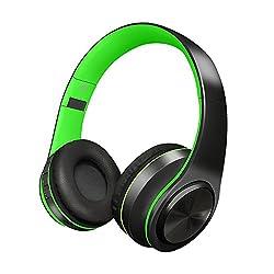 Le casque sans fil d'Alitoo Bluetooth, pliable au-dessus du casque d'oreille, vous aident à apprécier la musique merveilleuse n'importe quand n'importe quand. Caractéristiques:●Bluetooth 4.1: Adopter le chipset bluetooth 4.1 CSR supérieur, il pe...