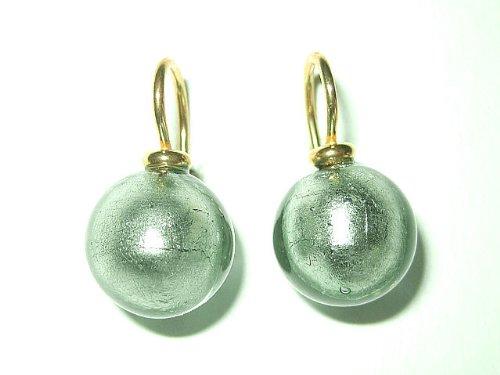 graugrune-intensiv-leuchtende-ohrringe-aus-handgearbeitetem-muranoglas-mit-einem-bugel-aus-sterlings