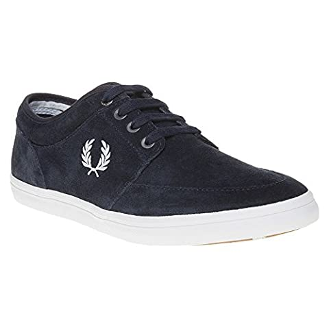 Fred Perry Stratford Suede Navy B1168608, Basket - 43