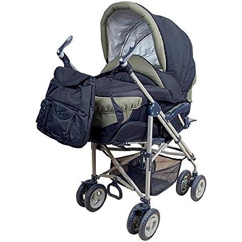 Cochecito para paseo para bebé, modelo children. 4 en 1 - Carrito bebé, silleta y bolso. De regalo burbuja de