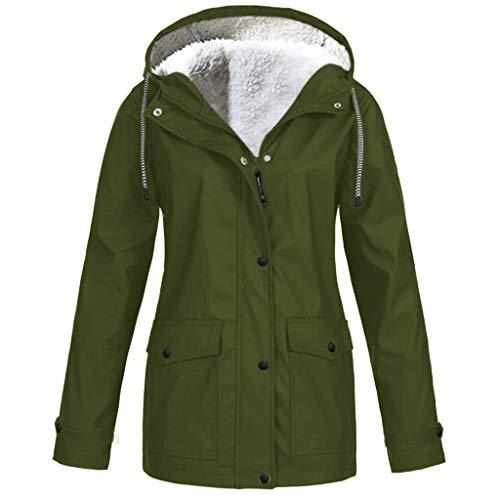 TIMEMEAN Waterproof Women Coats Ladies Long Sleeve Outdoor Hooded Winderproof Jacket